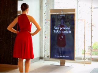 Neiman Marcus enables users to record videos of themselves trying on clothing in store