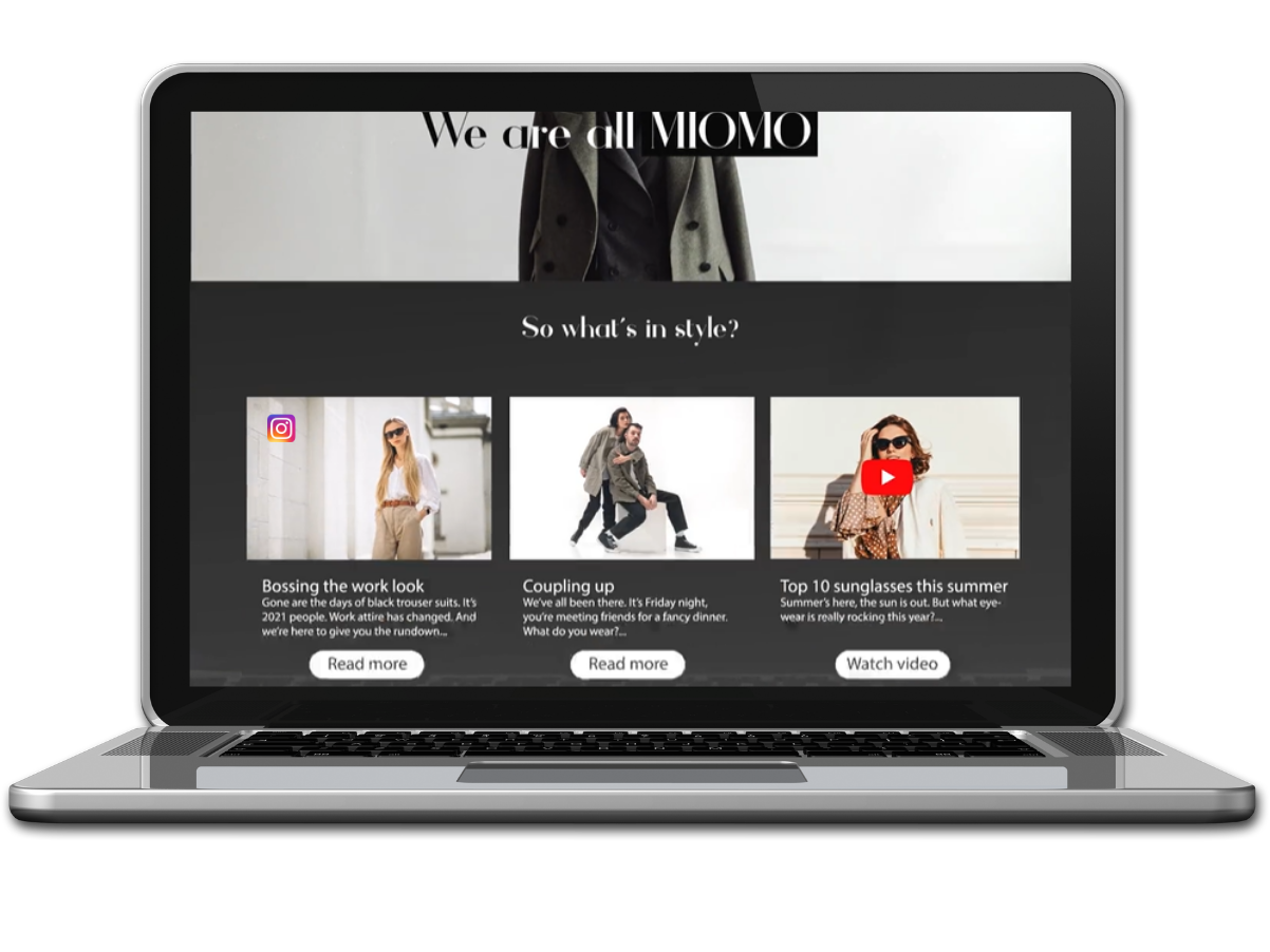 Free content from channel silos & automatically integrate it into your ecommerce store