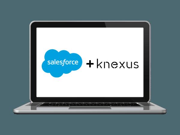 Knexus integrates with Salesforce Marketing Cloud
