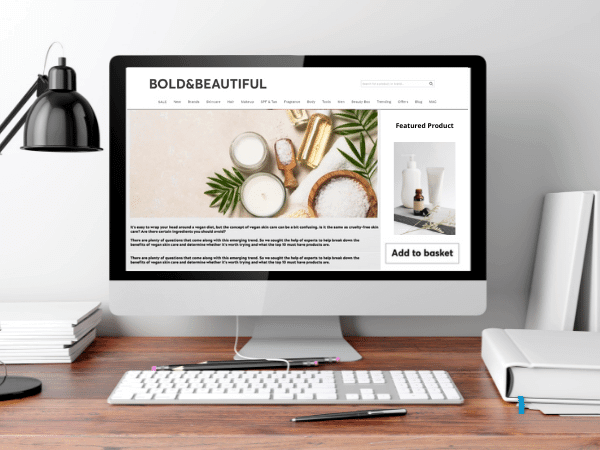 Make your blog content shoppable