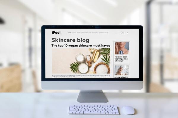 Brand blog content