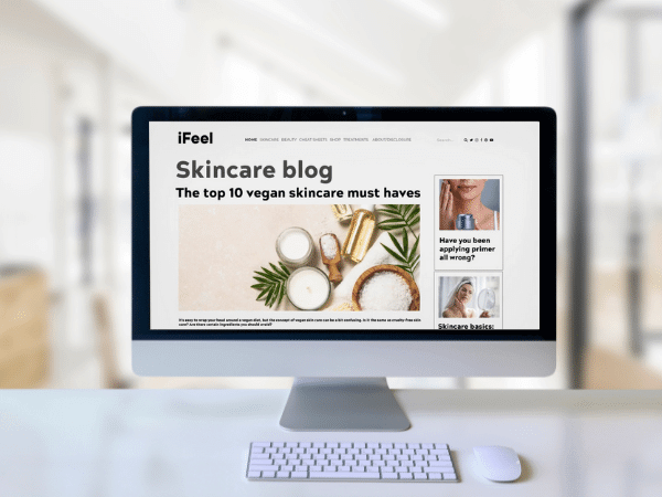 Brand's blog content