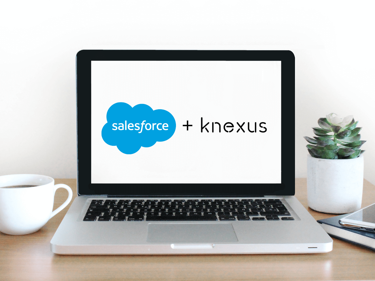 Knexus connects to Salesforce Marketing Cloud